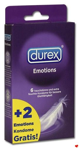 Kondomy - Durex emotions