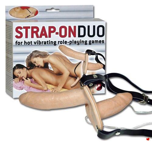 Připínací penis - Strap-on Duo